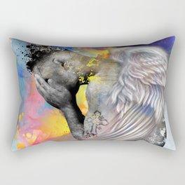 angel male nude Rectangular Pillow