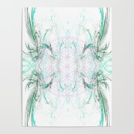 smoke on the flower of life Poster