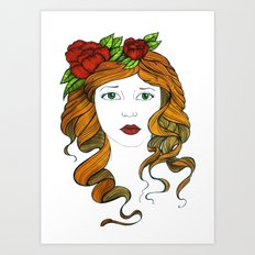 Valentine... Art Print
