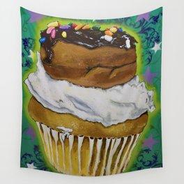 DonutCupcake Wall Tapestry