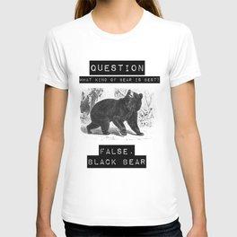 false. black bear T-shirt