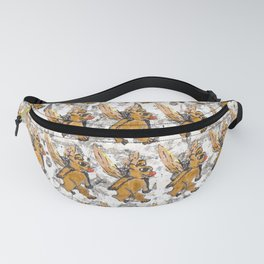 Bees Bears Fanny Pack