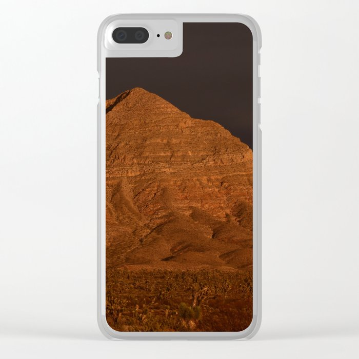 Desert Alpenglow Clear iPhone Case