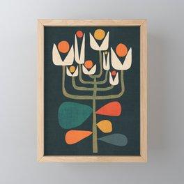 Retro botany Framed Mini Art Print