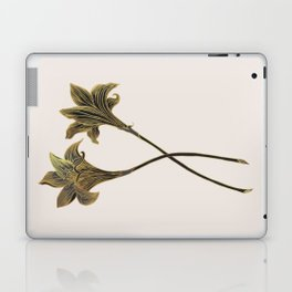Indian Lily Daffodil Laptop & iPad Skin