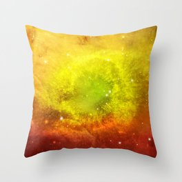Watercolor Universe 6 Throw Pillow