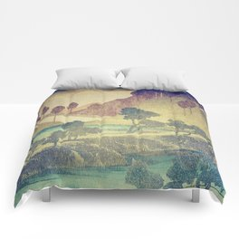 A Valley in the Evening Comforters