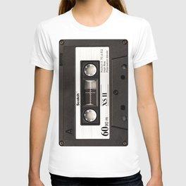 Cassette Tape Black And White #decor #homedecor #society6 T-shirt