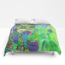 BIKE RIDE 2 Comforters