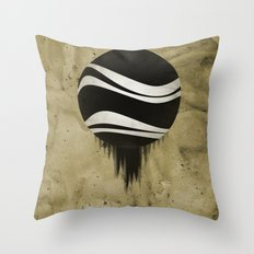 Contained Wave Throw Pillow