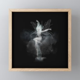 Air Witch - Elements Collection Art Print Framed Mini Art Print