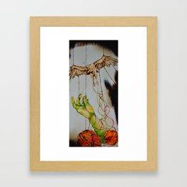 Twisted Gut Framed Art Print