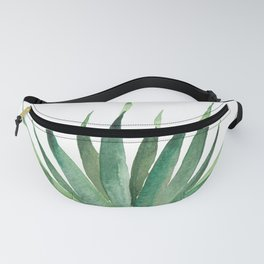 Tropical Palm Leaf #4 | Watercolor Painting Fanny Pack