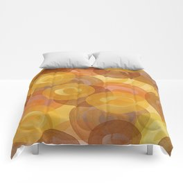 Autumn Swirls Comforters