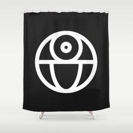 Death Star Shower Curtain