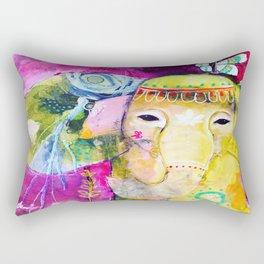 A Soft Place to Fall Rectangular Pillow