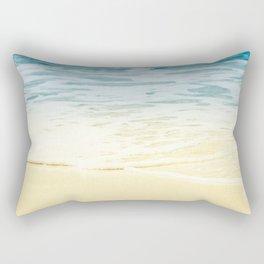 Kapalua Beach dream colours sparkling golden sand seafoam Maui Hawaii Rectangular Pillow