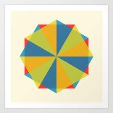 Shapes Art Print