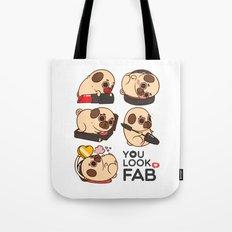 You Look Fab! -Puglie Tote Bag