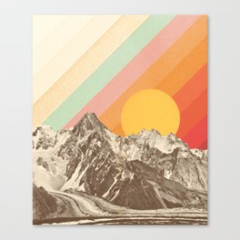 Mountainscape 1 Canvas Print