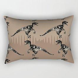 ChocoPaleo: Velociraptor Rectangular Pillow