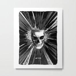 XIII tarot card Metal Print