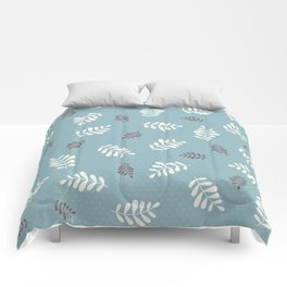 Falling Leaves – Blue Comforters