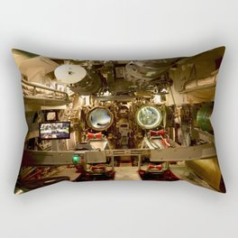 USS Batfish SS-310 - Below Deck in te Forward Torpedo Room, #1 Rectangular Pillow