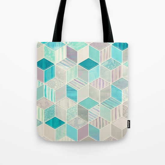 Vacation Patchwork Tote Bag