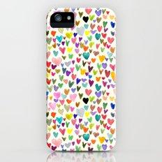 Love the world Slim Case iPhone (5, 5s)