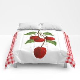 Country Cherries Comforters