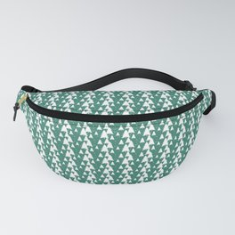 White Christmas Tree Pattern Fanny Pack
