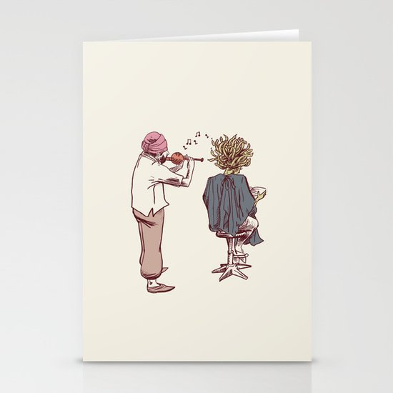New Hairstyle Stationery Cards