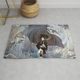 Out of the Cave, Into the Storm, the Hero Prepares for the Next Battle Rug