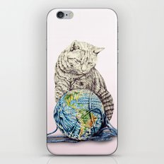 In which our feline deity shows restraint  iPhone & iPod Skin