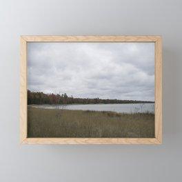 Autumn at Secret Beach Framed Mini Art Print