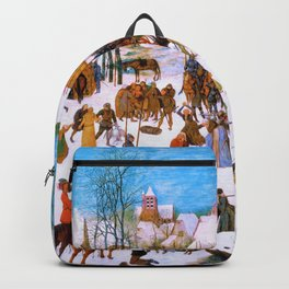 Pieter Bruegel - Massacre Of The Innocents - Digital Remastered Edition Backpack