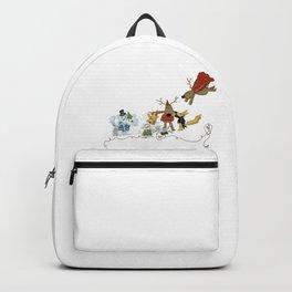 ANDREYA STORY'S ART: Happy Holidays Backpack