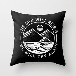 truce II Throw Pillow