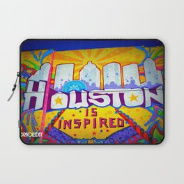 Houston is Inspired Laptop Sleeve