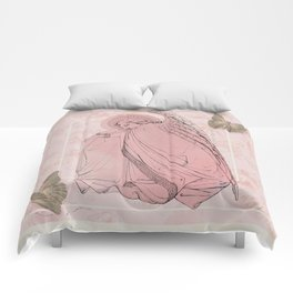 Butterfly Angel Collage Comforters