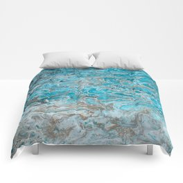 Beach Shallows 2 Comforters
