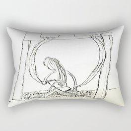 Not An Excuse. Rectangular Pillow