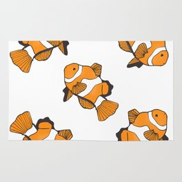 Sea-life Collection - Clownfish Rug