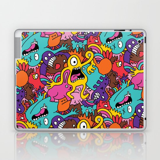 More Monsters, More Patterns Laptop & iPad Skin