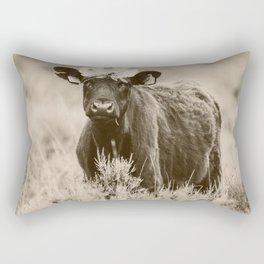 Daisy- Cream Rectangular Pillow