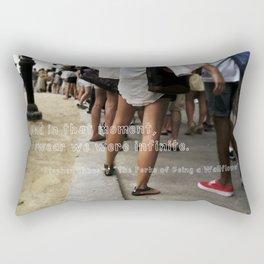 ...I swear we were infinite - The Perks of Being a Wallflower Rectangular Pillow