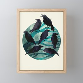 The Gathering Framed Mini Art Print
