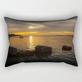 Penclawdd sunset Rectangular Pillow