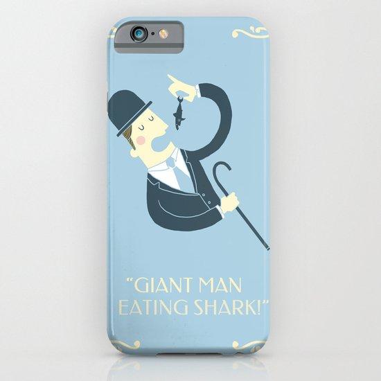 Giant man eating shark!! iPhone & iPod Case